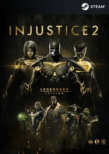 Injustice 2 Legendary Edition  pc code steam