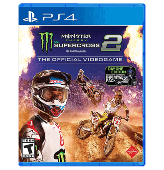 Monster Energy Supercross - The Official Video Game 2 ps4 - Playstation 4