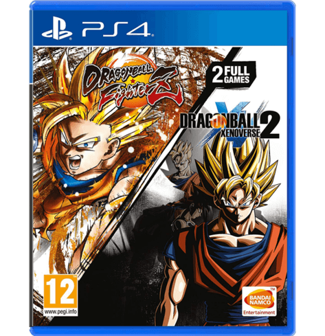 Dragon Ball FighterZ And Dragon Ball Xenoverse 2 Double Pack