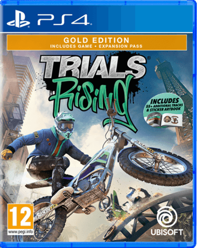 Trials Rising Gold Edition - Used