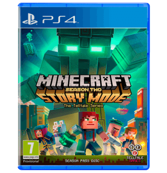 MINECRAFT STORY MODE - SEASON 2 - PS4   used