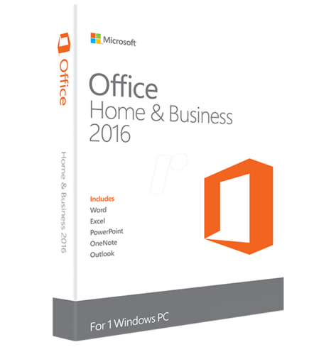 Microsoft Office 2016 Home & Business Digital Online Key