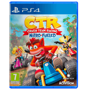 Crash Team Racing Arabic Dubbing PS4 Nitro-Fueled - Used