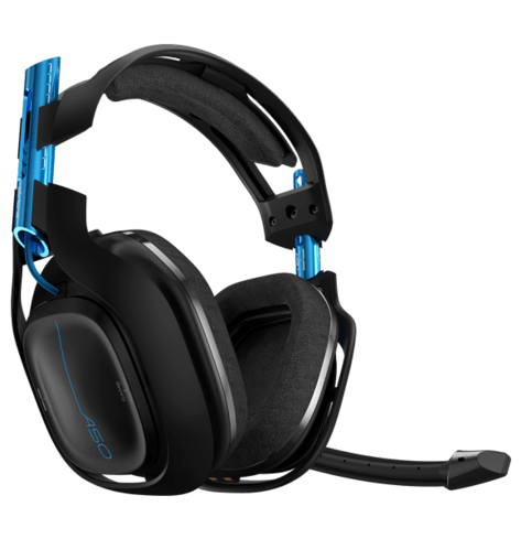 ASTRO Gaming A50 Wireless Headset - Black/Blue - PlayStation 4 + PC