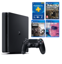 PS4 Slim 1TB Bundle (Days Gone, Detroit, Rainbow Six Siege)