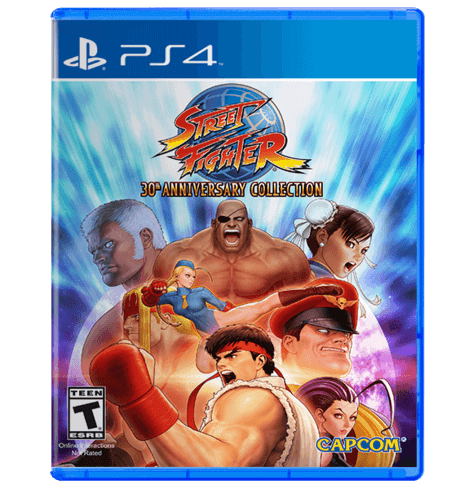STREET FIGHTER 30TH ANNIVERSARY COLLECTION - USED