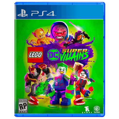 LEGO DC SUPER-VILLAINS PS4 (USED)