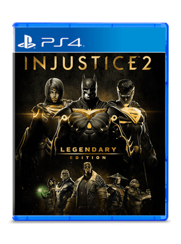 Injustice 2 Legendary Edition ps4 - Used