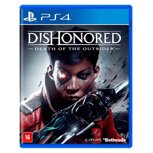 Dishonored Death of the Outsider - PS4 used