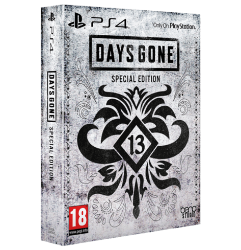 DAYS GONE SPECIAL EDITION  used