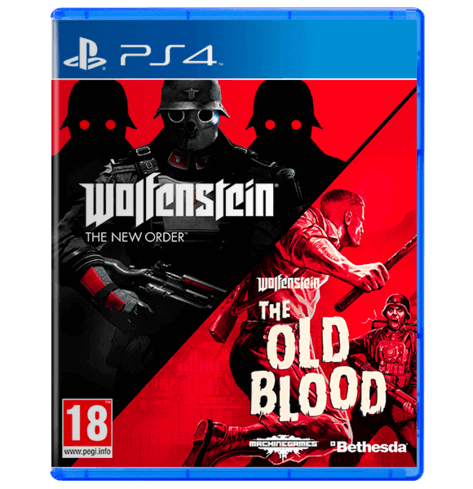 Wolfenstein New Order / Old Blood Double Pack - Used
