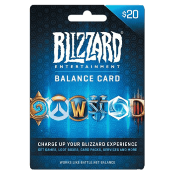 Blizzard gift card 20$ USA