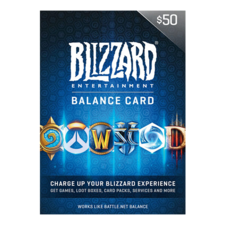 Blizzard gift card 50$ USA