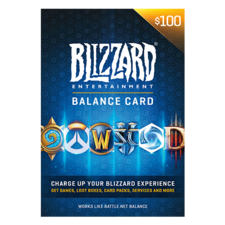 Blizzard gift card 100$ USA