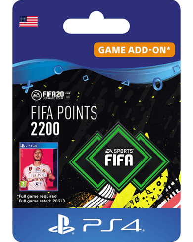 FIFA 20 Ultimate Team - 2200 FIFA Points USA