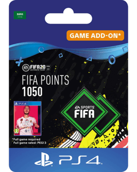 FIFA 20 Ultimate Team - 1050 FIFA Points KSA