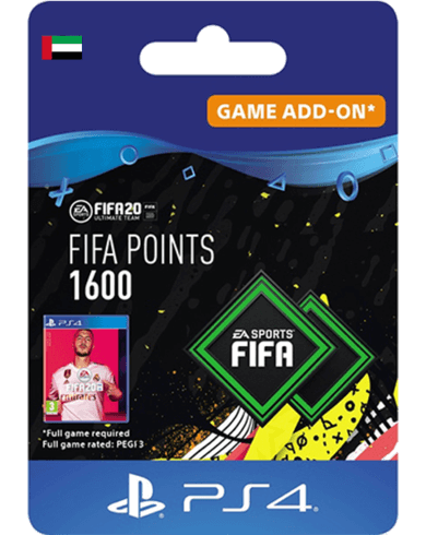 FIFA 20 Ultimate Team - 1600 FIFA Points UAE