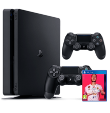 PS4 1 TB FIFA20 ARABIC BUNDLE + 2 CONTROLLERS