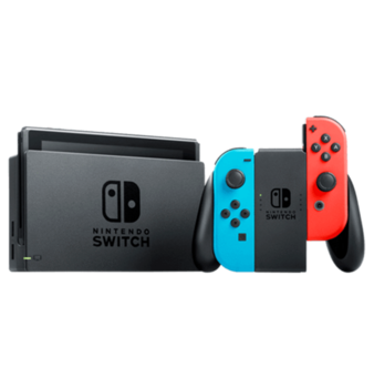 Nintendo Switch - Neon Red/Neon Blue (V 2)