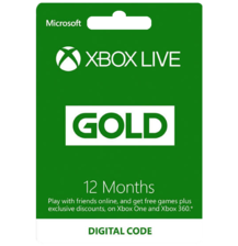 Xbox Live Gold Membership 12 Month US