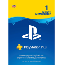 PlayStation Plus 1 Month Subscription UK