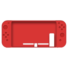 nintendo switch silicone case - red