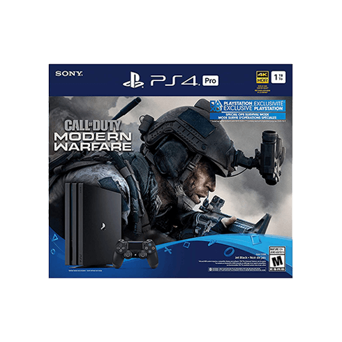 PS4 PRO modern warfare  BUNDLE