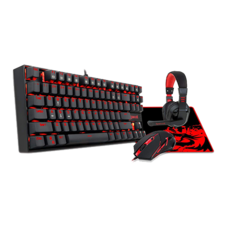 Redragon K552-BB Gaming Keyboard and Mouse, Gaming Headset