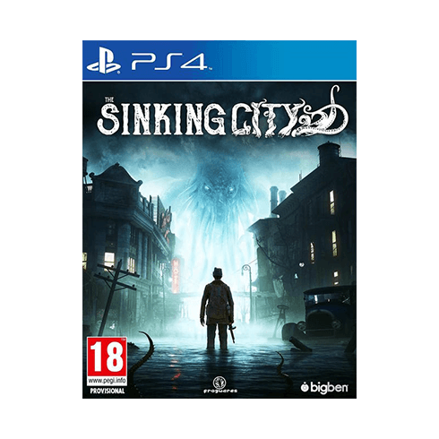 THE SINKING CITY - PLAYSTATION 4 used