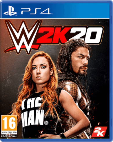 WWE 2K20 Arabic Edition PlayStation 4 - Used