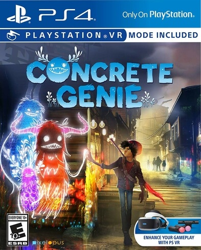 CONCRETE GENIE USED -PS4