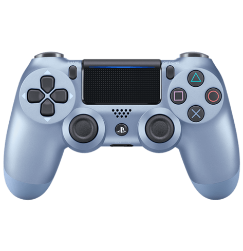 Wireless Controller for PlayStation 4 - Titanium Blue