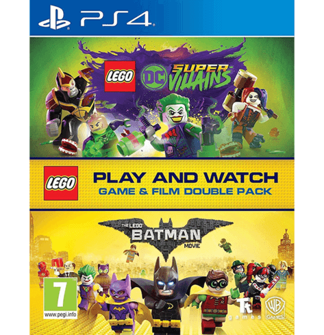 LEGO Game & Movie Double Pack (DC Super-Villains) - PS4