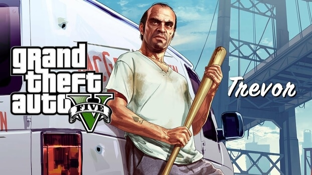 GTA V : Grand Theft Auto V - PlayStation 4 (Used)