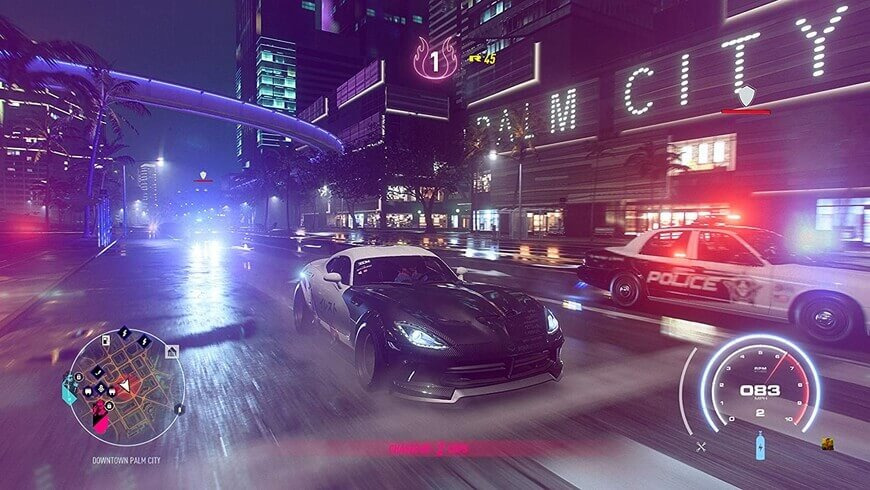 Need for Speed Heat - PS4 USED
