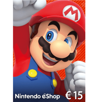 Nintendo E-Shop 15€ Card - Europe