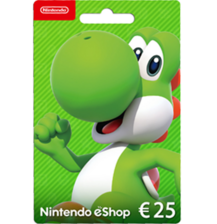 Nintendo E-Shop 25€ Card - Europe