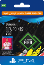 FIFA 20 Ultimate Team - 750 FIFA Points KSA
