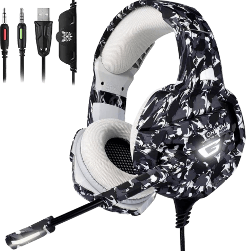 Onikuma K5 Gaming Headset-camo