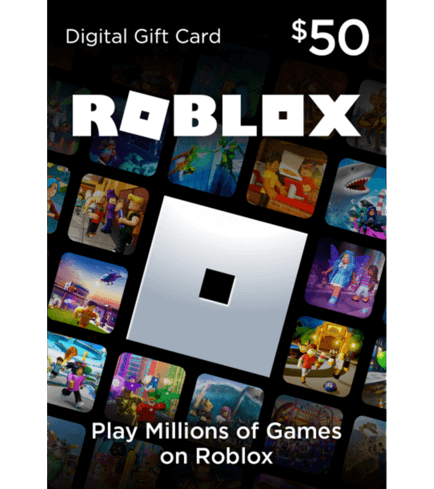 Roblox card 50 usd - 4500 robux key global