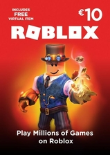 Roblox card 10 euro - 800 robux key global