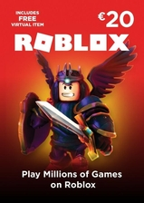 Roblox card 20 euro - 1600 robux key global