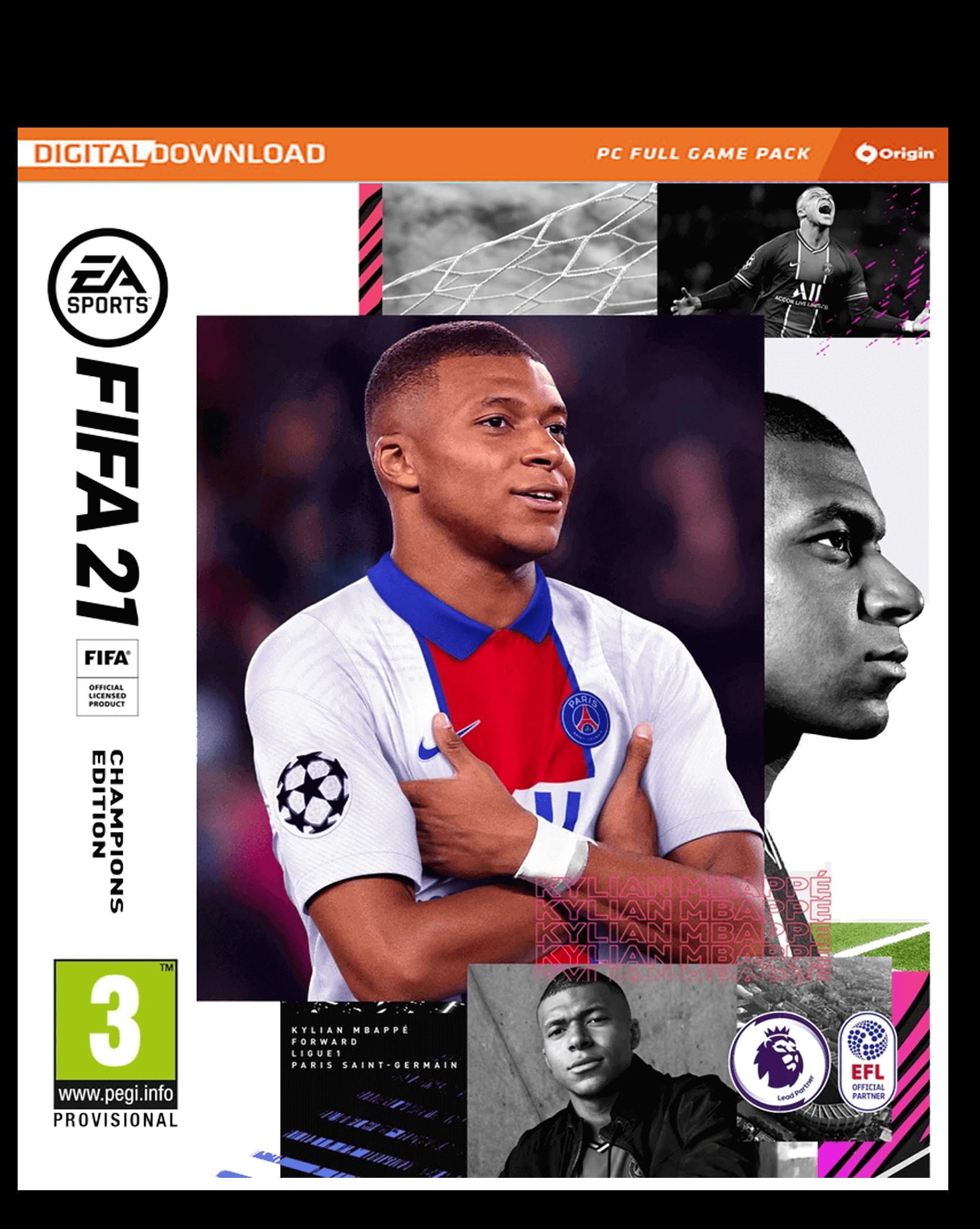 Fifa 21 Champions Edition Pc Origin Code