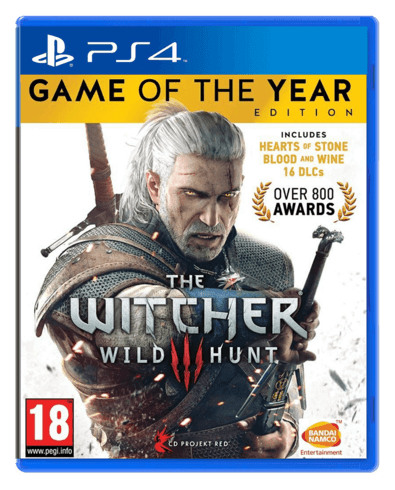 Witcher 3 Wild Hunt Complete (Used) Arabic