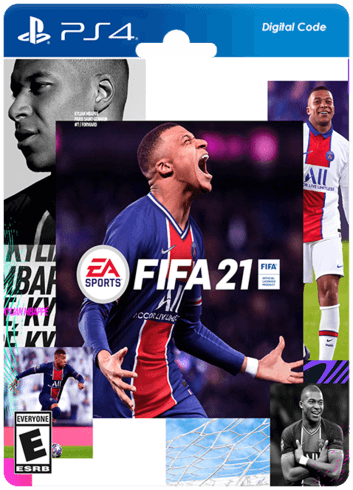 FIFA 21 PS4 Digital Code (Middle East)