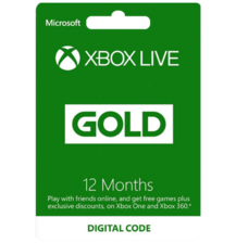 XBOX Live Gold 12 Months (Middle East)