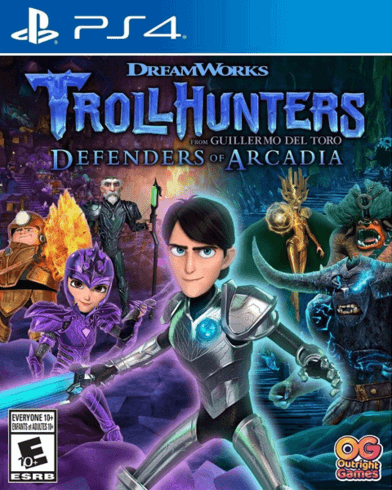 Trollhunters tales of arcadia ps4