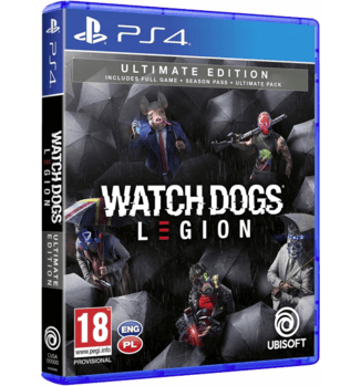 WATCH DOGS LEGION ULTIMATE EDITION - PS4