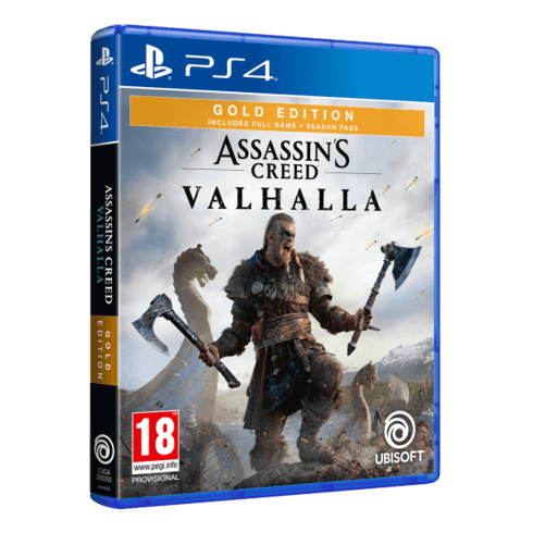 Assassin's Creed Valhalla - Gold Edition - PS4