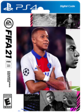FIFA 21 Champions Edition PS4 Digital Code (Middle East)
